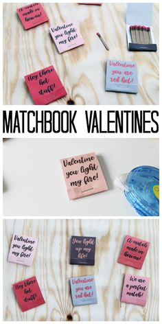 Matchbook Valentines