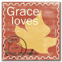 Red Letter Words - Grace Loves