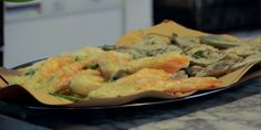 Fried Zucchini Flower with Sage Recipes | Food Network Canada