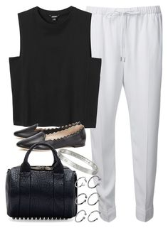 """""""Untitled #3343"""" by plainly-marie ❤ liked on Polyvore featuring Alexander Wang, Monki, Chloé and ASOS"""