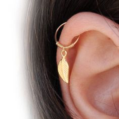Helix Earring - Tiny Hoop Helix Ring - Gold Helix - Helix Earring Hoop - Helix Piercing - Helix Jewelry - Helix Cartilage Earring- Cartilage by Benittamoko on Etsy https://www.etsy.com/listing/546754067/helix-earring-tiny-hoop-helix-ring-gold