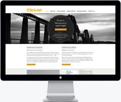 Click Let Website Home Page
