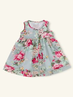 Ralph Lauren Floral Dress - Dresses & Rompers for pretty little girls just in time for Easter.