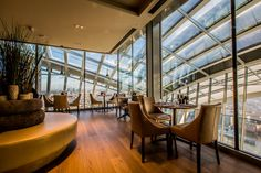 """Specialist restaurant and retail design company o1creative is pleased to announce details of its work for food and drink group """"rhubarb"""" in designing the dining venues on the roof of London's new Sky Garden, opened this month at 20 Fenchurch Street."""