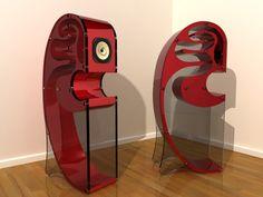Creation Audio C-Horn Speakers Horn Speakers, Diy Speakers, Built In Speakers, Stereo Speakers, Audiophile Speakers, Hifi Audio, Audio Design, Sound Design, Equipment For Sale