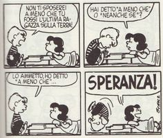 Charles Schulz, 'Peanuts', comic strip Despite Lucy's meanness towards Charlie brown, she always had a soft spot for Schroeder and had no problems professing her affections for him. Snoopy Comics, Funny Comics, Peanuts Comics, Lucy Van Pelt, Peanuts By Schulz, Peanuts Snoopy, Tumblr, Learn To Sketch, Italian Humor