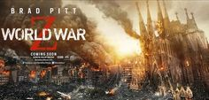 Una Sagrada Família arrasada por los zombies en el cartel de 'World War Z'