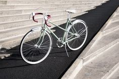 Velo Vintage racefiets - Trend: de fiets als modeaccessoire - Trends - Mode
