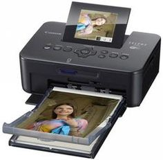 "CANON SELPHY ""compact photo printer can print direct from phone, or laptop. Easily print off photos for friends and family almost lab quality. Works out about per print . Image Printer, Compact Photo Printer, Canon Selphy, Windows Rt, Cool Gifts For Teens, Printer Driver, Square Photos, Mo S, Tech Gadgets"