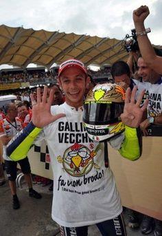 Valentino Rossi: 9 X World Champ!