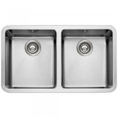 Astini Serena 2.0 Bowl Silk Stainless Steel Undermount Kitchen Sink & Waste 9218