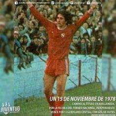 #IndependienteHistorico En #Avellaneda, #Independiente vence por 1-0 a #RosarioCentral