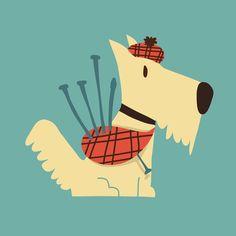 Scottish Terrier Art Print