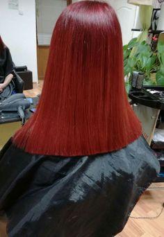 Line cut red head