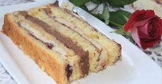 Vanilla Cake, French Toast, Good Food, Sweets, Meals, Breakfast, Cakes, Party, Morning Coffee