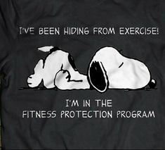 Fitness Protection Program 😂Snoopy is that truth oh never mind love you 💋❤️😍😘🐾💌 Cute Quotes, Great Quotes, Funny Quotes, Funny Memes, Inspirational Quotes, Good Day Quotes, Peanuts Quotes, Snoopy Quotes, Peanuts Cartoon