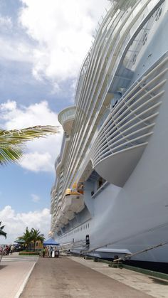 The beauty and size of the Allure of the Seas!