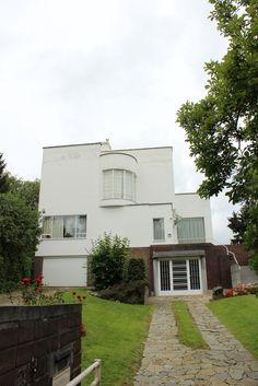 Modernist house, avenue de Foestraets, brussels