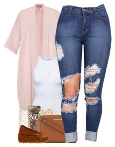 """""""Untitled #1421"""" by power-beauty ❤ liked on Polyvore featuring Phase Eight, Estradeur, Betsey Johnson, With Love From CA, Louis Vuitton, River Island, MICHAEL Michael Kors and Minnetonka"""