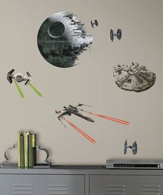 Look at this Star Wars Spaceships Decal Set on #zulily today!