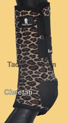 Front and back Classic Equine Legacy Boots love my cheetah boots!