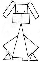 PARAÍSO DO EDUCANDO: Formas Geométricas - Bichos Team Activities, Preschool Activities, Play To Learn, School Resources, Mosaic Patterns, Drawing For Kids, Origami, Kindergarten, Crafts For Kids