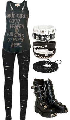 Punk Outfits good girlsbad girls in 2020 punk outfits scene Punk Outfits. Here is Punk Outfits for you. Punk Outfits thats so punk rock of you scene outfits punk outfits. Moda Punk Rock, Teenager Mode, Teenager Outfits, Outfits For Teens, Scene Outfits, Punk Outfits, Fashion Outfits, Fashion Trends, Batman Outfits