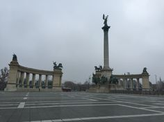 Heroes Square-Budapest