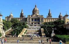 Museu Nacional d'Art de Catalunya - MNAC (largest collection of Roman frescoes) - Barcelona, Spain