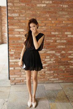 Rays Wrinkle Dress