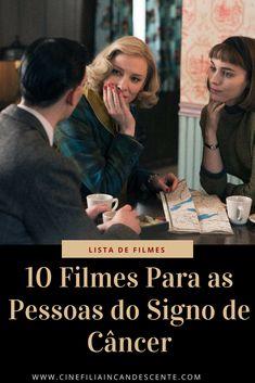 10 filmes para as pessoas do signo de câncer. #filmes Cinema, Lol, Feng Shui, Movies, Movie Posters, Fictional Characters, Casual, Zodiac Cancer, Movie List