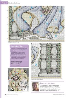 Belle Of The Ball FromThe World of Cross Stitching N°248 December 2016 5 of 5