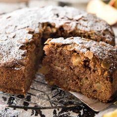 κεικ με σοκολατα και μηλα Banana Bread, Recipies, Cookies, Cake, Desserts, Food, Recipes, Crack Crackers, Tailgate Desserts