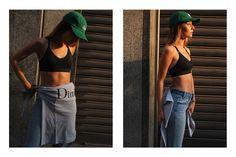 The latest installment of our ongoing 'Wavy Women' series spotlights Italian beauty Chiara Capitani.