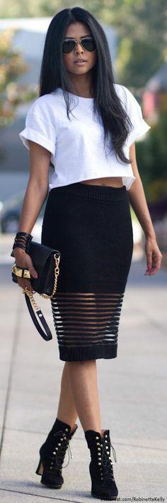street style - CRAZY skirt! <3
