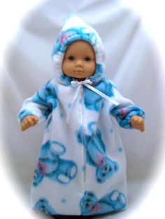 American Girl Bitty Baby sized Baby Bunting by enchanteddesigner