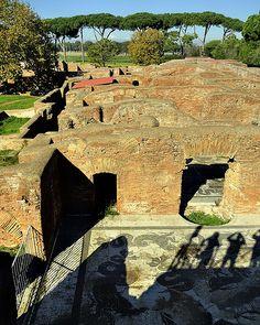 Ostia Antica, Roma, Italy