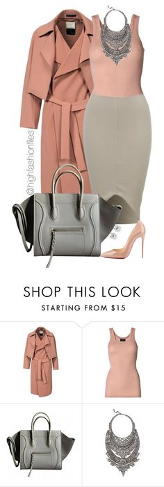 ! by highfashionfiles ❤ liked on Polyvore featuring Mode, By Malene Birger, Christian Louboutin und DYLANLEX