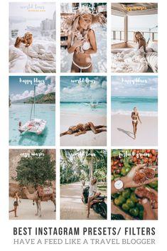 22 Best INSTAGRAM PRESETS images in 2019 | Instagram feed