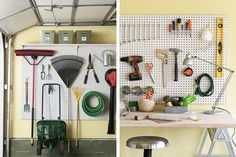 Garage organization ideas | Burritos and Bubbly
