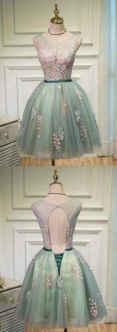 Fashion homecoming dresses,short Homecoming Dress ,open back Prom Dress ,tulle homecoming dresses,homecoming dresses for teens
