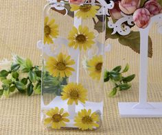 Real Pressed Flower iPhone 5 CaseNatural Flower 5s by smallone2, $12.99