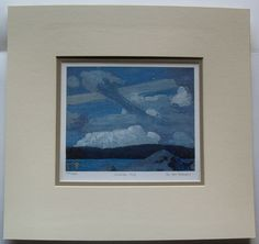 $34.99  TOM Thomson Group OF Seven Clouds 1915 Matted Limited Edition ART Print | eBay