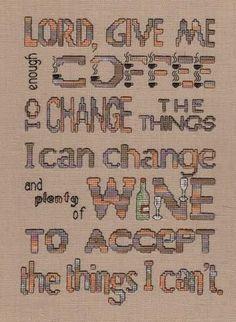 Enough Coffee pattern