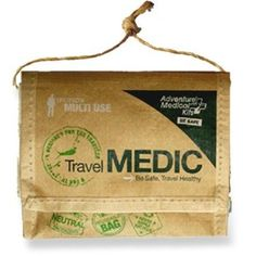 e9225c409e8c Treat minor injuries and ease discomforts associated with travel with the  Adventure Medical Travel Medic first