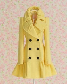 Want this coat! (not that I would fit this one.lol)
