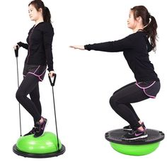 Balance Trainer Half Ball Yoga Exercise Workout Color Opt