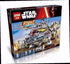 43.11$  Buy now - http://alimtk.worldwells.pw/go.php?t=32705031873 - 2016 New LEPIN 05032 Star Wars 1022 Pcs Captain Rex's AT-TE Minifigure Building Blocks Brick Toy Compatible Legoe