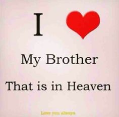 Missing my Brother dearly. R.I.P.