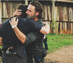 "The most ""feel good"" moment of season 7! #TheWalkingDead #RickGrimes #DarylDixon"
